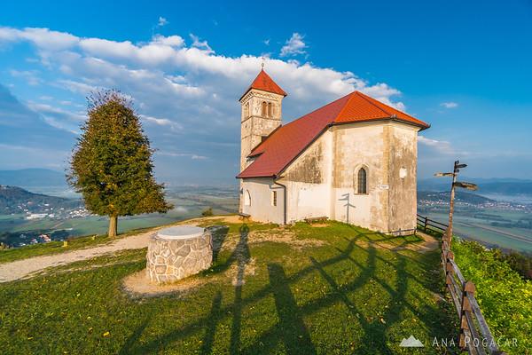St. Ana church in the morning sun
