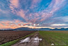 Colorful clouds over the Kamnik Alps