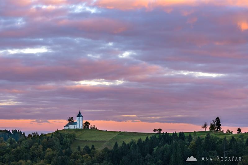 Sunset at Jamnik - Oct 12, 2016
