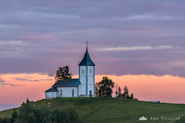 Sunset at Jamnik