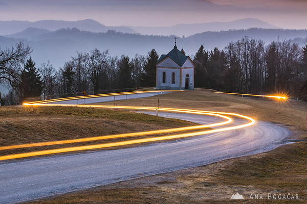 Some long exposure experimenting in Janče