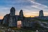 Stari grad ruins before sunset