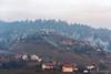 Frosty hills around Zreče