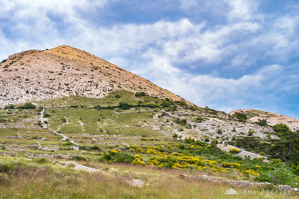 Mountains above Stara Baška