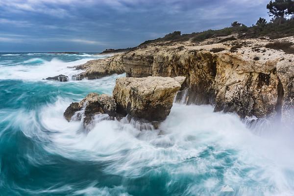Dramatic and windy Cape Kamenjak