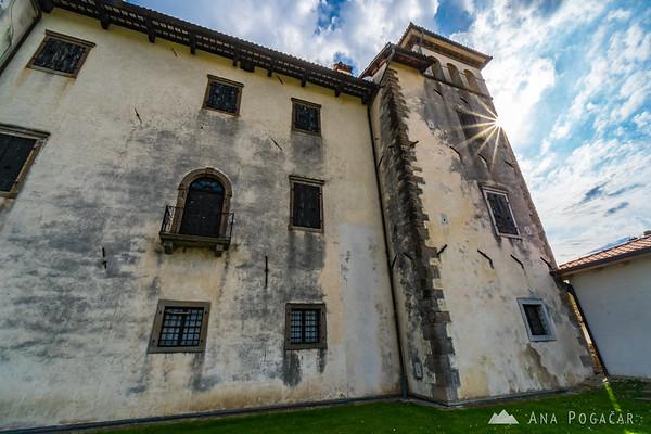 Dobrovo Castle in Goriška Brda