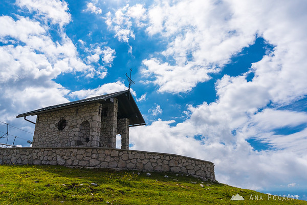 Chapel on Krvavec