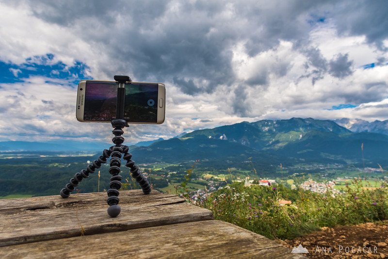Shooting a hyperlapse from Špica