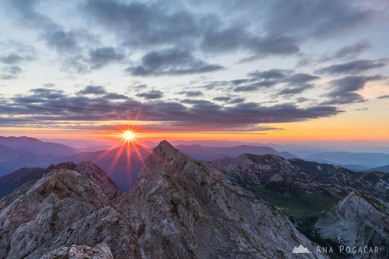 Sunrise on Mt. Planjava 2017