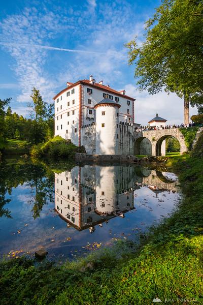 Snežnik Castle in all its glory