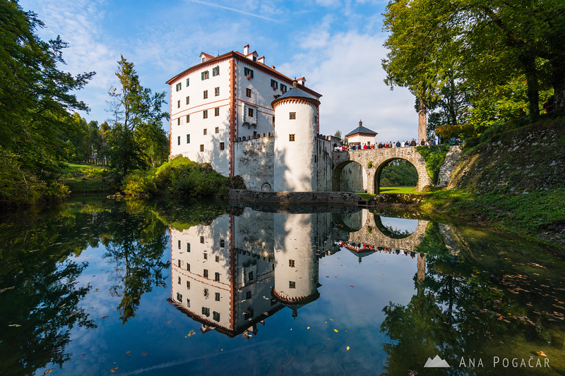 Snežnik Castle in all its glory