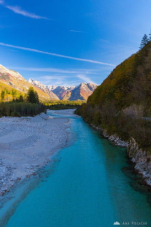 Soča river near Bovec