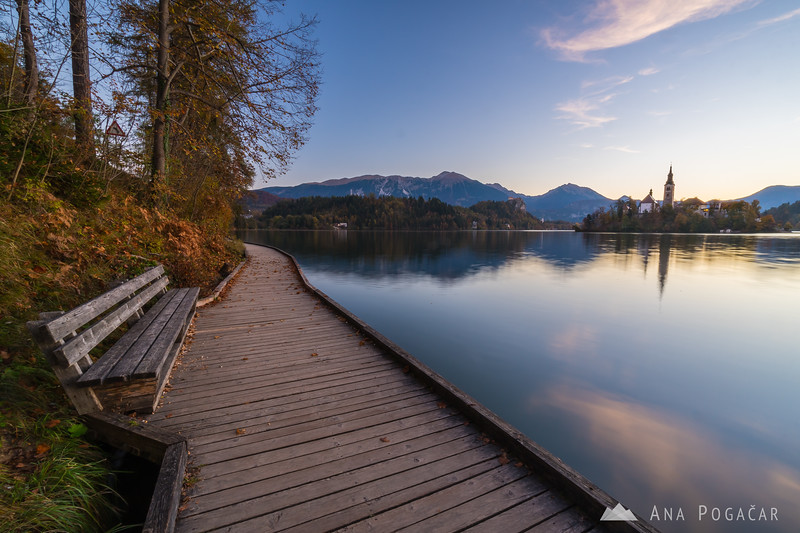 Lake Bled in the early morning