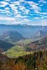 Views towards Lake Bohinj from the Vodnikov razglednik viewpoint