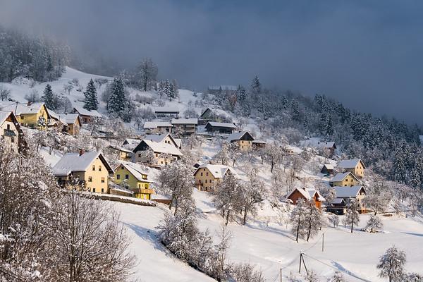 Winter wonderland in Dražgoše