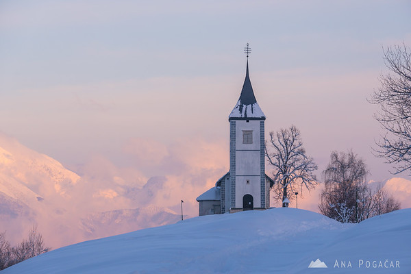 Jamnik in winter