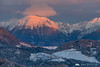 Mt. Stol at sunrise on a cold winter day
