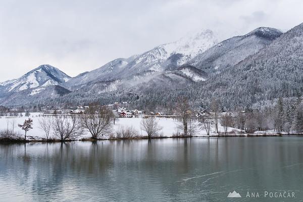 Snowy Lake Preddvor