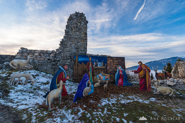 Nativity scene on Stari grad