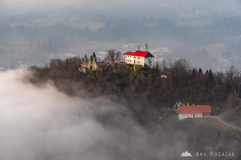 Stari grad above the fog