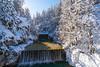 Sunny winter day in Kranjska Gora