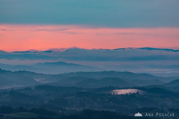 Sunset from Plački stolp