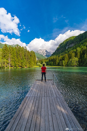 Planšar Lake in Jezersko