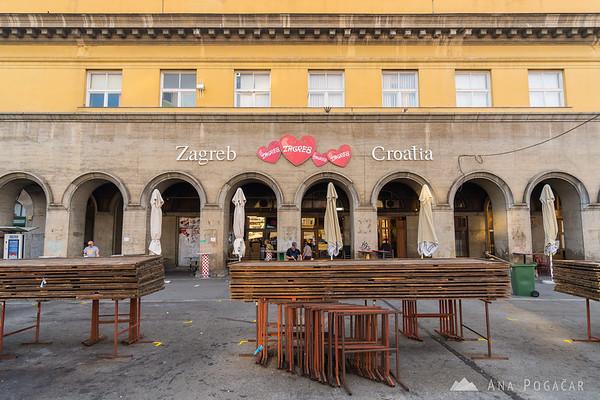 Zagreb on a sunny September afternoon