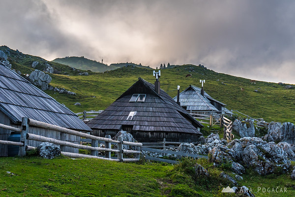 Velika planina on a September afternoon
