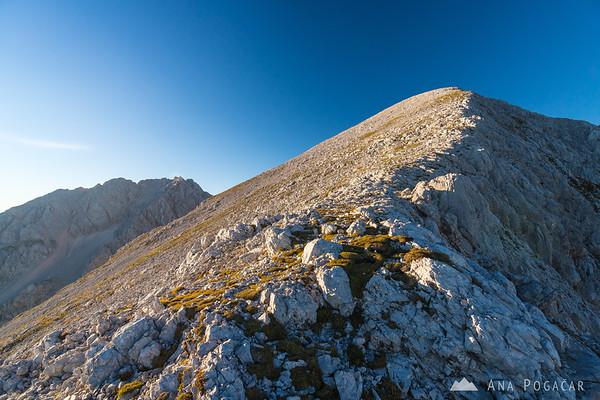 Climbing Mt. Grintovec