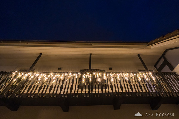 Christmas decorations on our house