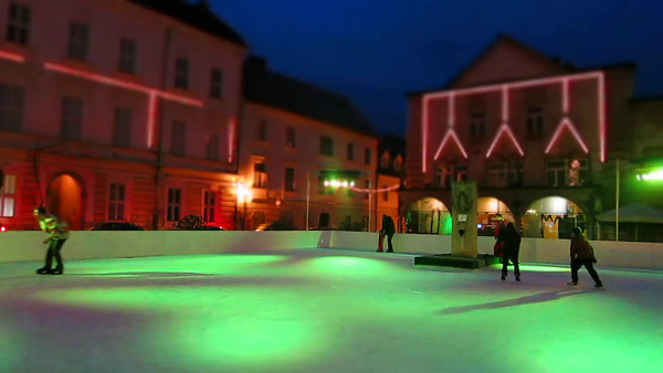 Ice rink in Kamnik - 5x speed