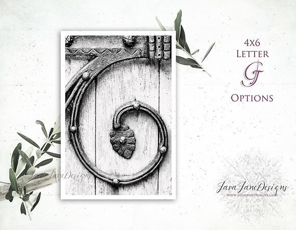 G Letter Options