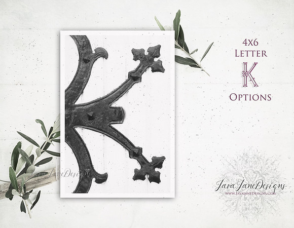 K Letter Options