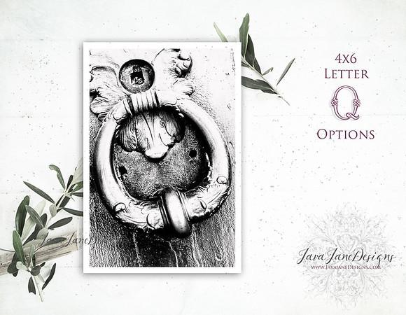 Q Letter Options