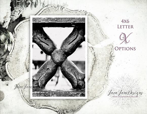 X Letter Options