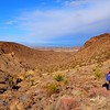 Hiking in Sloan Canyon