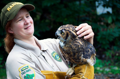 Park Ranger and Owl