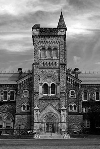 The University of Toronto ~ black and white
