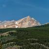 Mountain view from Suffleur Trailhead.