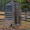 The Old Outhouse.