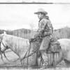 Horse & Rider - Drawing