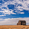 """Saskatchewan license plates include the caption """"Land of the Living Skies"""".  These blue skies are only matched by the incredible sunrises and sunsets."""