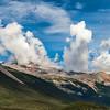 Strange cloud formations.