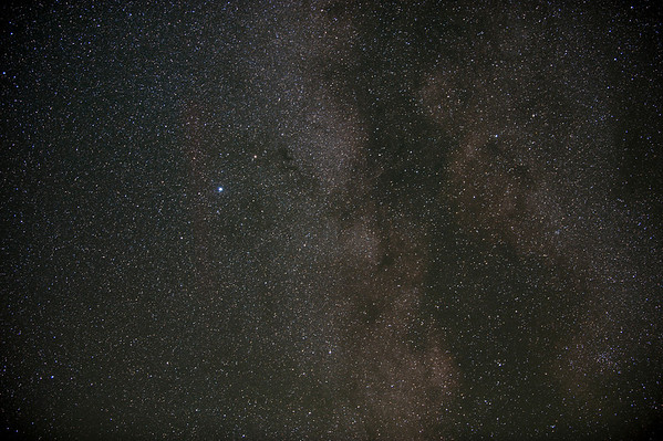 The Milky Way was stunning.