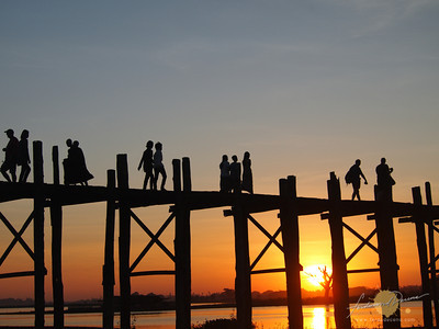 U-Bein's Bridge, Longest Teak Footbridge in the world
