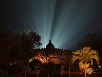 Borobudur in Glorious Light