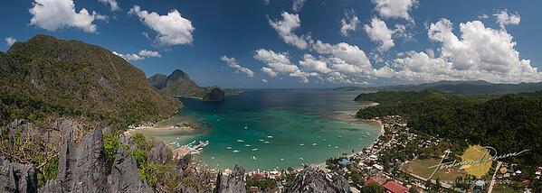 Bacuit Bay Panorama - El Nido