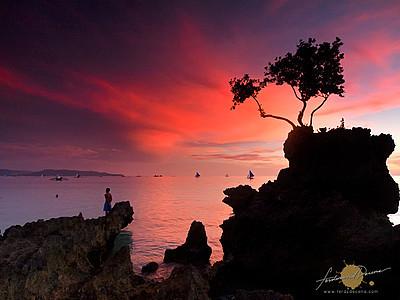 Boracay Fiery Sky