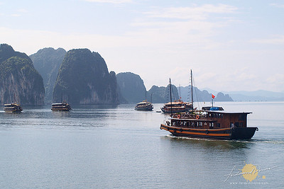 Towards the Karst - Halong Bay